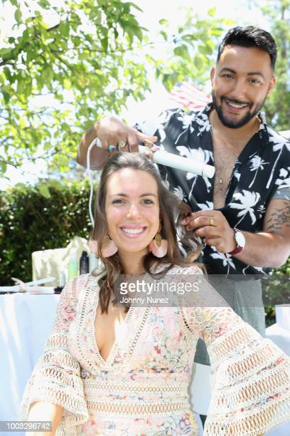 Vanessa Gordon attends The Inaugural Hamptons Interactive Influencer Brunch Hosted By East End Taste Produced By Ticket2Events at Topping Rose House...