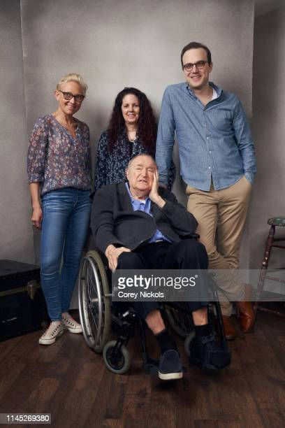 Vanessa Gould Wynn Handman Kasey Cunningham and Billy Lyons of the film 'It Takes A Lunatic' pose for a portrait during the 2019 Tribeca Film...