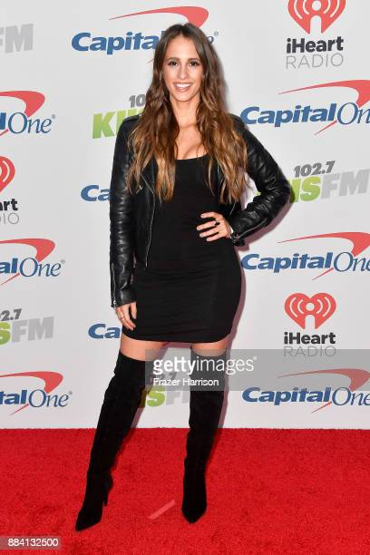 Vanessa Grimaldi attends 1027 KIIS FM's Jingle Ball 2017 presented by Capital One at The Forum on December 1 2017 in Inglewood California