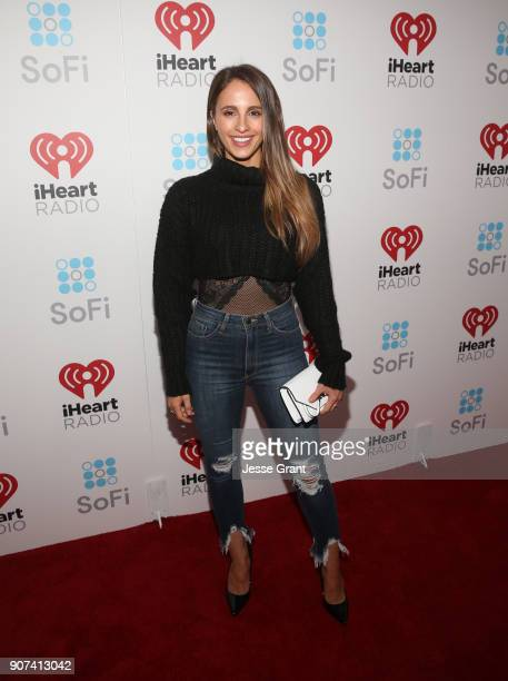 Vanessa Grimaldi attends iHeartRadio ALTer Ego 2018 at The Forum on January 19 2018 in Inglewood United States