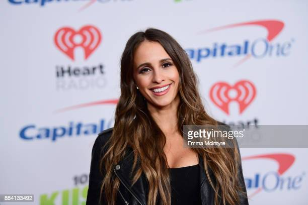 Vanessa Grimaldi poses in the press room during 1027 KIIS FM's Jingle Ball 2017 presented by Capital One at The Forum on December 1 2017 in Inglewood...