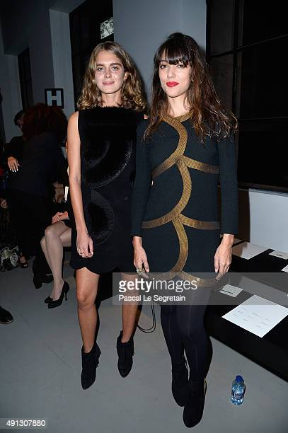 Vanessa Guide attends the John Galliano show as part of the Paris Fashion Week Womenswear Spring/Summer 2016 on October 4 2015 in Paris France