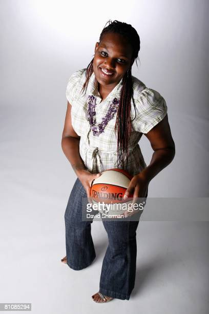 Vanessa Hayden of the Minnesota Lynx poses for a portrait during WNBA Media Day on May 12 2008 at Target Center in Minneapolis Minnesota NOTE TO USER...