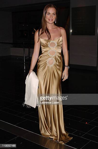 Vanessa Haydon during American Museum of Natural History Annual Winter Dance at American Museum of Natural History in New York City New York United...