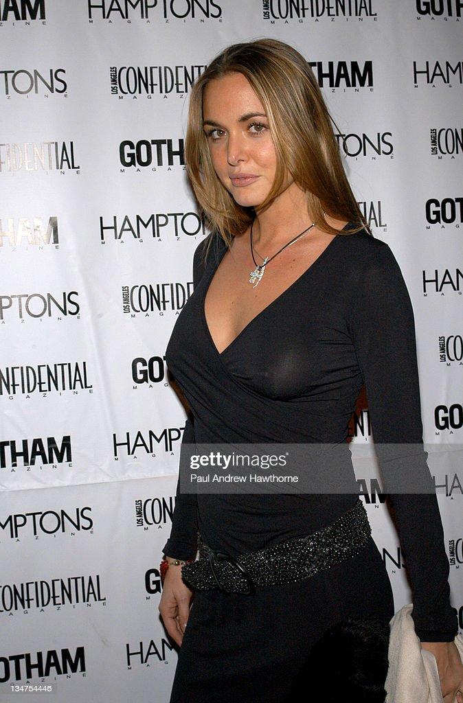 Kim Cattrall Hosts the Star-Studded Anniversary Celebration of Gotham and LA
