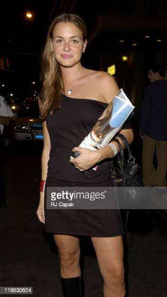 Vanessa Haydon during MercedesBenz Fashion Week Spring 2004 The Daily and IMG Models Celebrate the Tents' Tenth Year and the Grand Opening of LQ at...