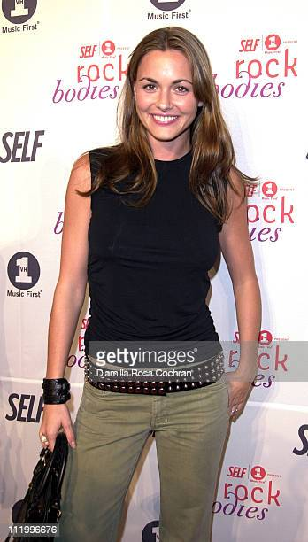 Vanessa Haydon during Premiere Party for Rock Bodies Presented by VH1 and Self Magazine at Splashlight Studios in New York City New York United States