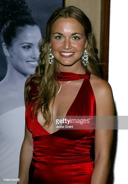 Vanessa Haydon during The 53rd Annual Miss USA Competition Arrivals at The Kodak Theatre in Hollywood California United States