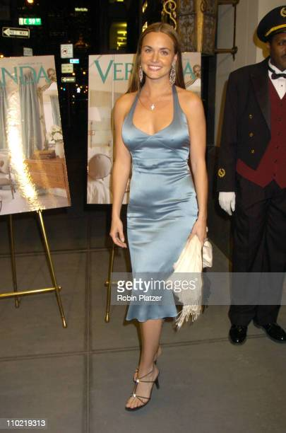 Vanessa Haydon during 'Veranda New York's Best at Trump Park Avenue The Ultimate Showcase Penthouse' Opening Night Reception at The Trump Park Avenue...
