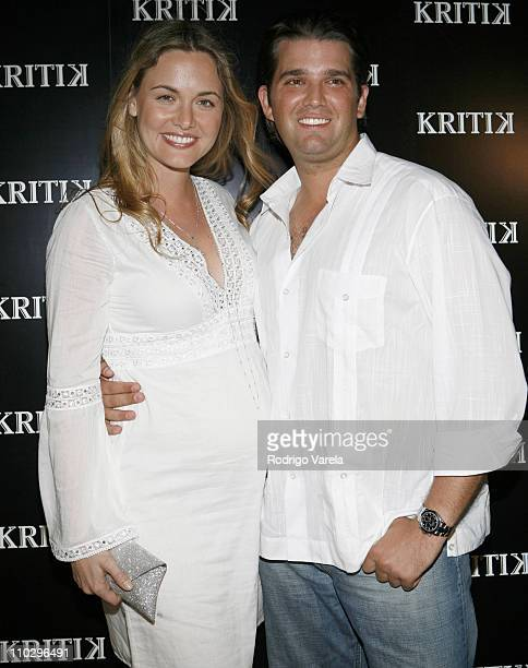 Vanessa Haydon Trump and Donald Trump Jr during New Year's Week Miami 2007 Jonathan Cheban Launches Kritik Clothing at Casa Casuarina Arrivals at...