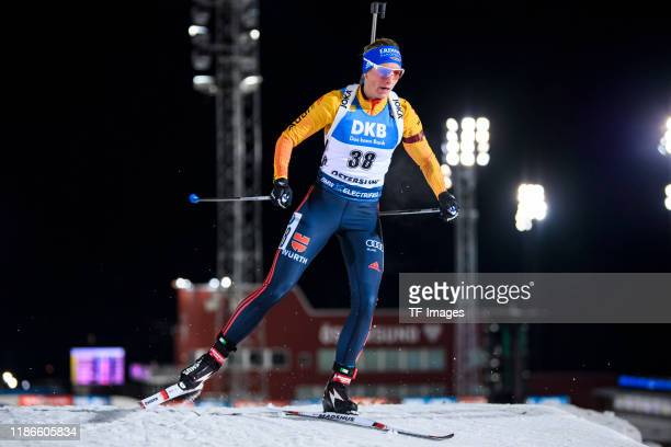 Vanessa Hinz of Germany in action competes during the Women 15 km Individual Competition at the BMW IBU World Cup Biathlon Oestersund at on December...