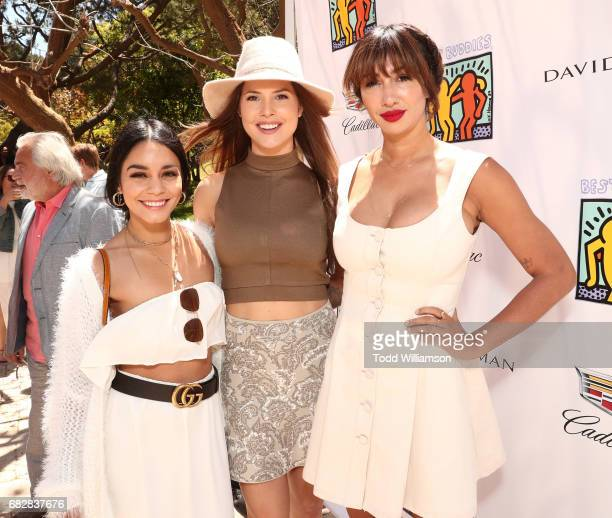 Vanessa Hudgens, Amanda Cerny and Jackie Cruz attend Mother's Day Weekend Brunch Hosted By Best Buddies Global Ambassador Cindy Crawford And Daughter...
