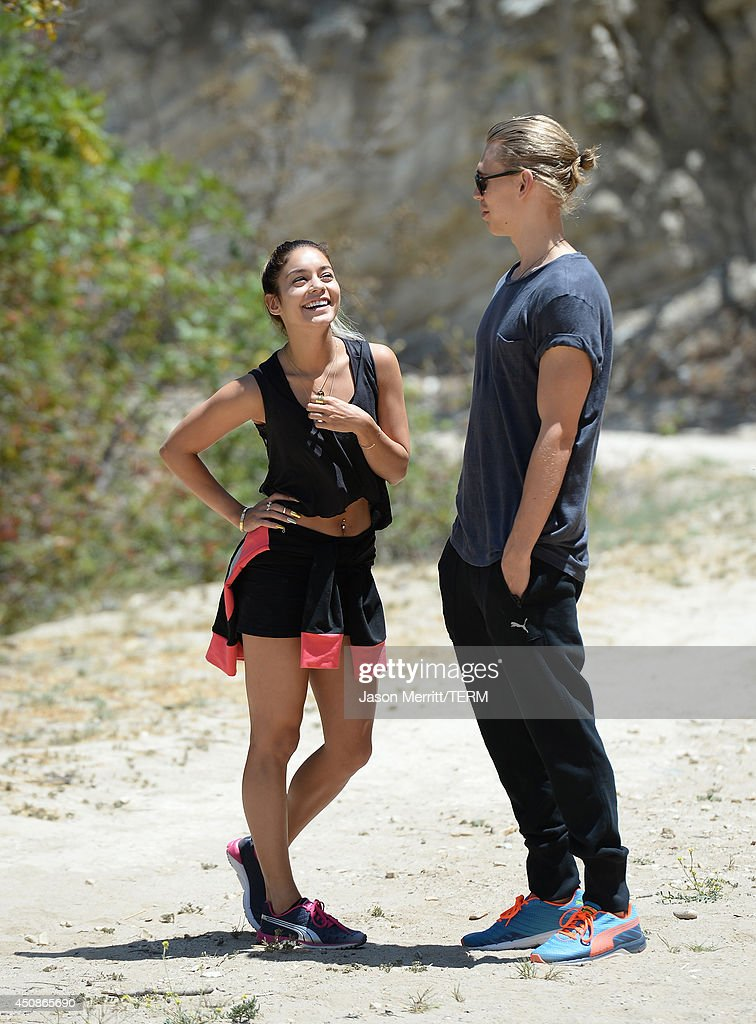 Vanessa Hudgens And Austin Butler Spotted In Los Angeles : News Photo