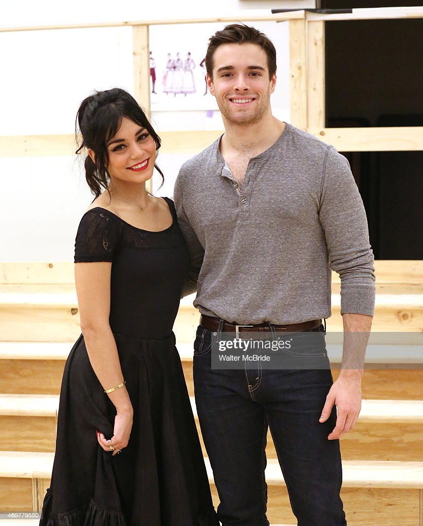 Vanessa hudgens and corey cott attend the meet greet for the new of picture id460779550 vanessa hudgens and corey cott attend the meet greet for the new broadway production of kristyandbryce Images