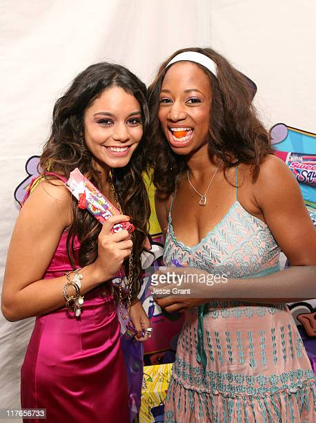 Vanessa Hudgens and Monique Coleman during My Scene Fab Faces Dolls Celebrity Retreat Produced by Backstage Creations at the 2006 Teen Choice Awards...