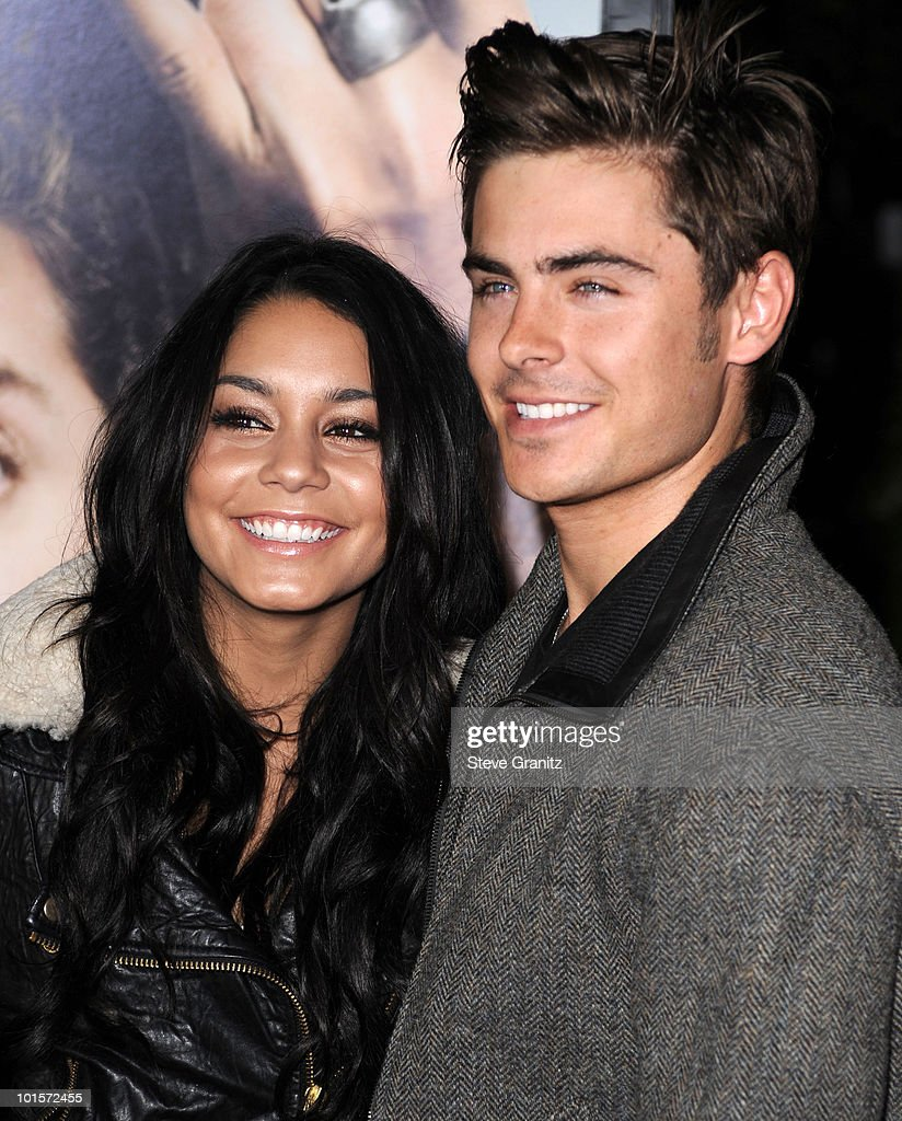 Vanessa Hudgens and Zac Efron attends the 'Get Him To The Greek' Los Angeles Premiere at The Greek Theatre on May 25, 2010 in Los Angeles, California.