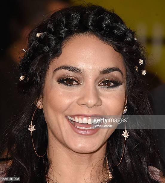Vanessa Hudgens arrives at the 2015 MTV Video Music Awards at Microsoft Theater on August 30 2015 in Los Angeles California
