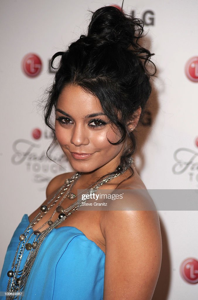 Vanessa Hudgens attends A Night Of Fashion & Technology With LG Mobile Phones Hosted By Victoria Beckham & Eva Longoria at Soho House on May 24, 2010 in West Hollywood, California.