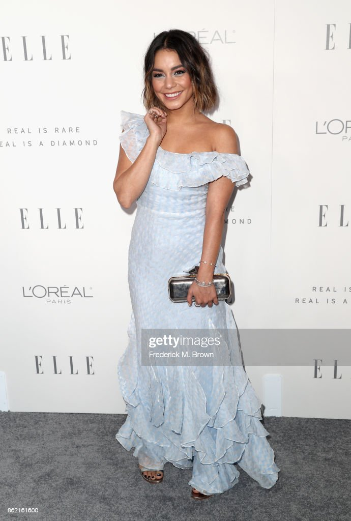 Vanessa Hudgens attends ELLE's 24th Annual Women in Hollywood Celebration at Four Seasons Hotel Los Angeles at Beverly Hills on October 16, 2017 in Los Angeles, California.