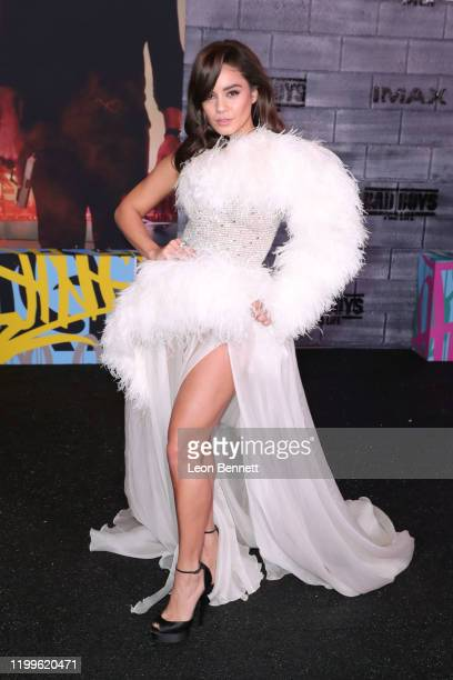 Vanessa Hudgens attends Premiere Of Columbia Pictures' Bad Boys For Life at TCL Chinese Theatre on January 14 2020 in Hollywood California