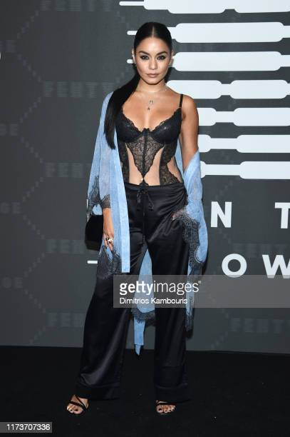 Vanessa Hudgens attends Savage X Fenty Show Presented By Amazon Prime Video Arrivals at Barclays Center on September 10 2019 in Brooklyn New York