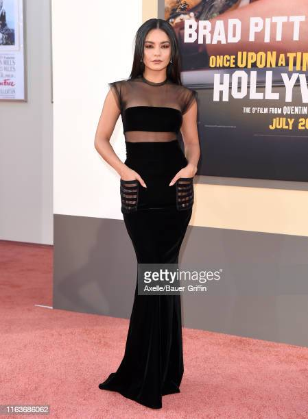 """Vanessa Hudgens attends Sony Pictures' """"Once Upon a Time ... In Hollywood"""" Los Angeles Premiere on July 22, 2019 in Hollywood, California."""
