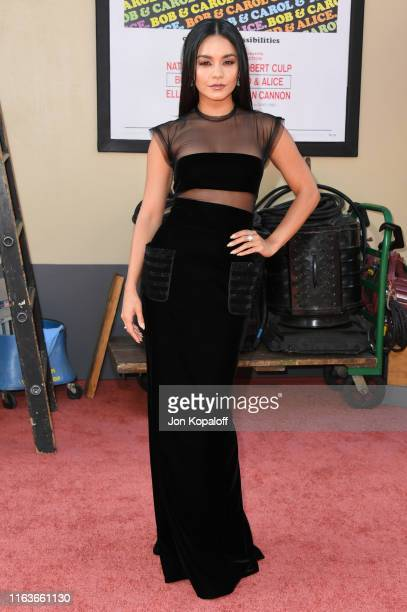 """Vanessa Hudgens attends Sony Pictures' """"Once Upon A Time...In Hollywood"""" Los Angeles Premiere on July 22, 2019 in Hollywood, California."""
