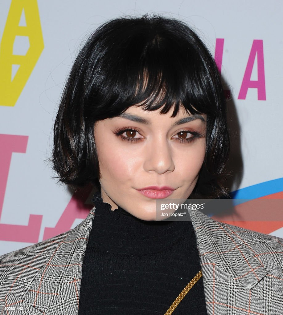Vanessa Hudgens attends Stella McCartney's Autumn 2018 Collection Launch on January 16, 2018 in Los Angeles, California.