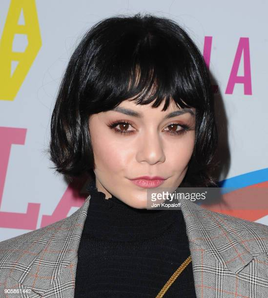 Vanessa Hudgens attends Stella McCartney's Autumn 2018 Collection Launch on January 16 2018 in Los Angeles California