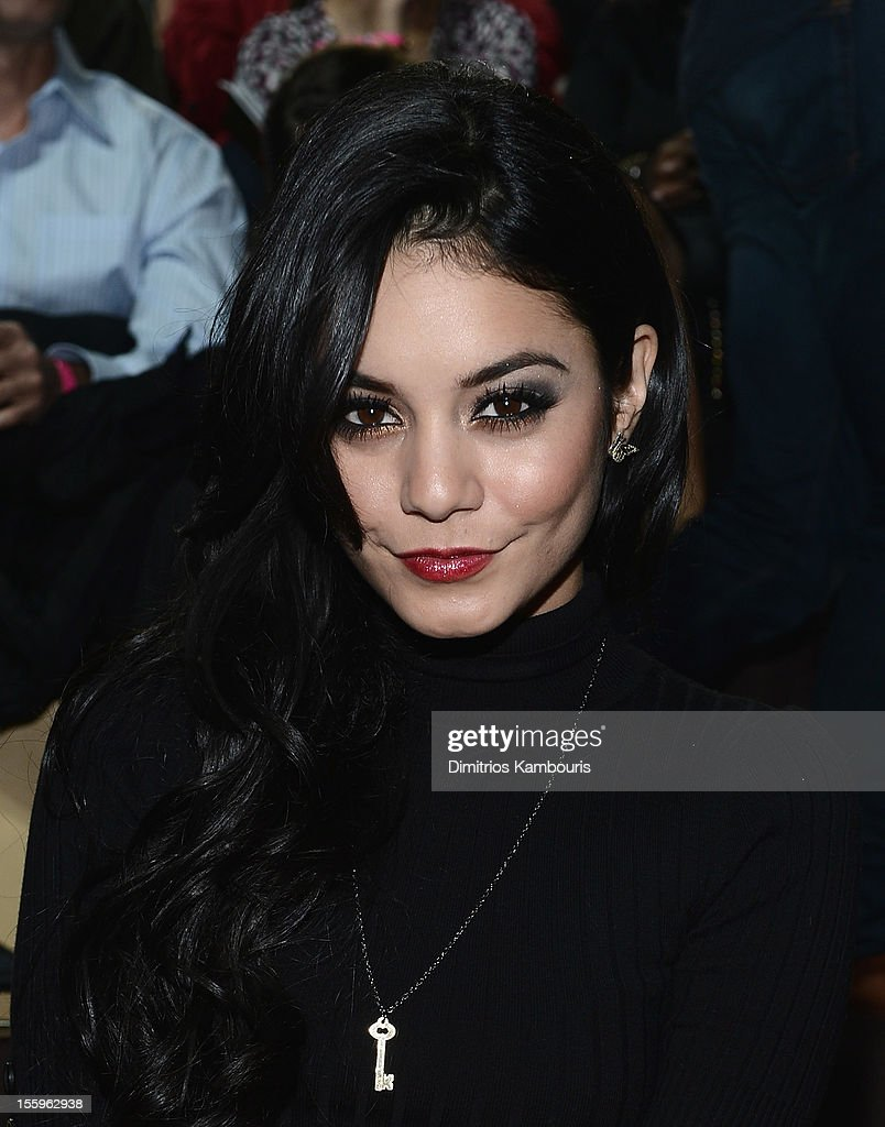 Vanessa Hudgens attends the 2012 Victoria's Secret Fashion Show at the Lexington Avenue Armory on November 7, 2012 in New York City.