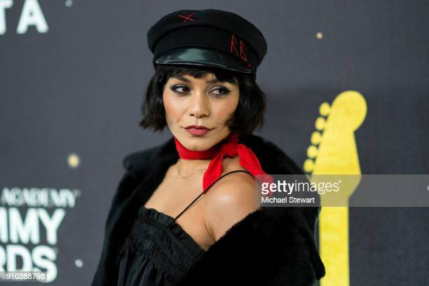 Vanessa Hudgens attends the 2018 Delta Air Lines Grammy weekend celebration at The Bowery Hotel on January 25 2018 in New York City