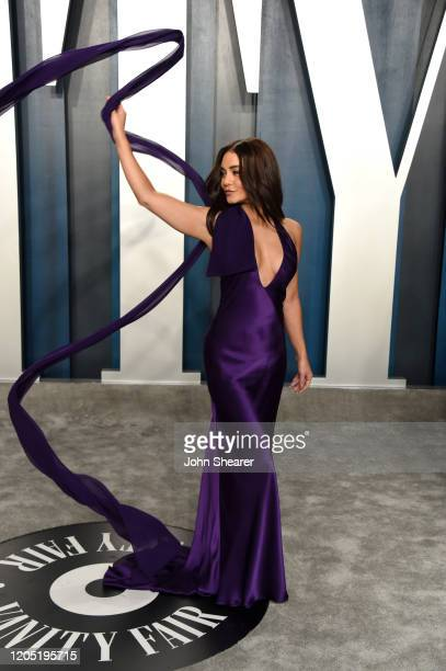 Vanessa Hudgens attends the 2020 Vanity Fair Oscar Party hosted by Radhika Jones at Wallis Annenberg Center for the Performing Arts on February 09,...