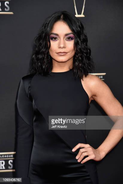 Vanessa Hudgens attends the 8th Annual NFL Honors at The Fox Theatre on February 2 2019 in Atlanta Georgia
