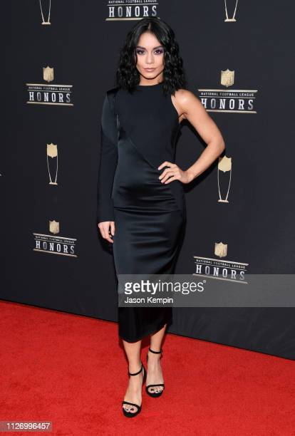 Vanessa Hudgens attends the 8th Annual NFL Honors at The Fox Theatre on February 02 2019 in Atlanta Georgia