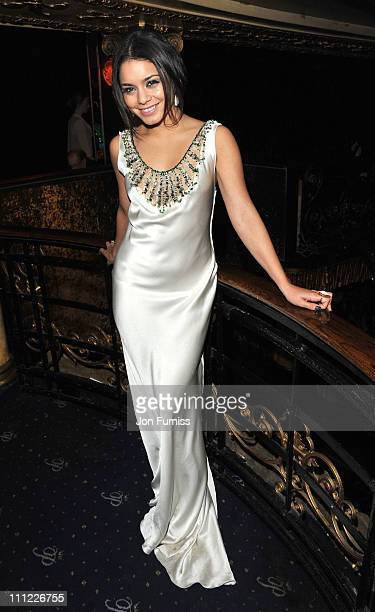 Vanessa Hudgens attends the after party of the 'Sucker Punch' UK premiere at Cafe de Paris on March 30 2011 in London England