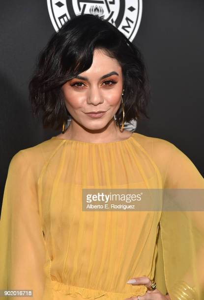 Vanessa Hudgens attends The Art Of Elysium's 11th Annual Celebration on January 6 2018 in Santa Monica California