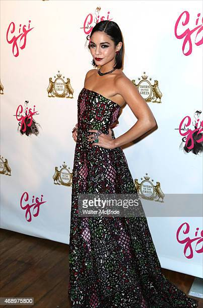 Vanessa Hudgens attends the Broadway Opening Night After Party for 'Gigi' at Tavern On The Green on April 8 2015 in New York City