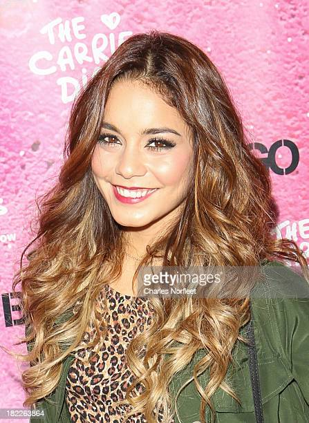 Vanessa Hudgens attends The Carrie Diaries Season Two Premiere Party hosted By Bongo September 28 2013 in New York United States
