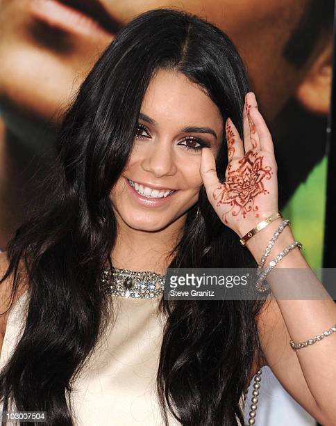 Vanessa Hudgens attends the Charlie St Cloud Premiere at Regency Village Theatre on July 20 2010 in Westwood California