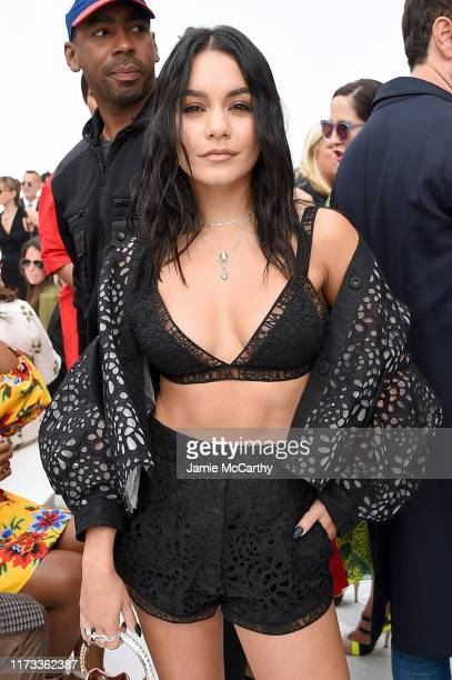 Vanessa Hudgens attends the front row of Carolina Herrera fashion show during New York Fashion Weekon September 09 2019 in New York City