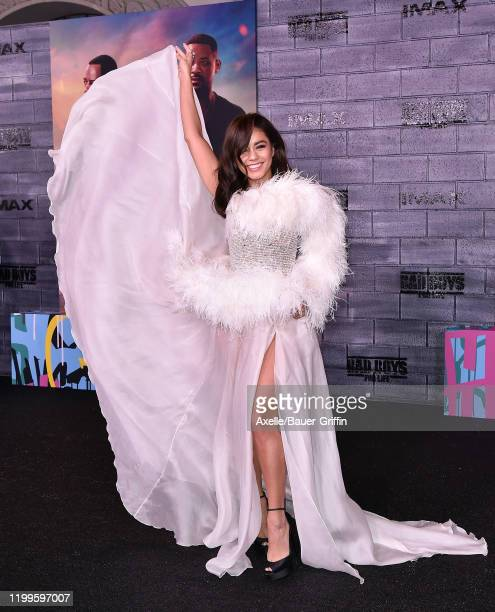 Vanessa Hudgens attends the Premiere of Columbia Pictures' Bad Boys for Life at TCL Chinese Theatre on January 14 2020 in Hollywood California