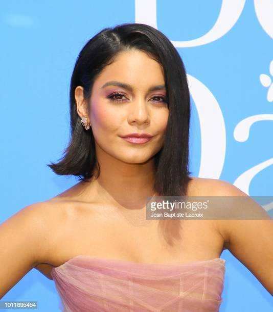Vanessa Hudgens attends the premiere of LD Entertainment's 'Dog Days' at Westfield Century City on August 5 2018 in Century City California