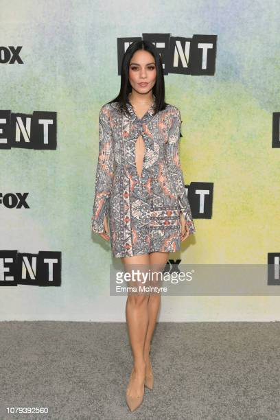 Vanessa Hudgens attends the press junket for RENT at Fox Studio Lot on January 8 2019 in Century City California