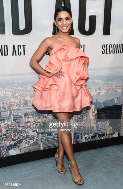Vanessa Hudgens attends the 'Second Act' World Premiere at Regal Union Square Theatre Stadium 14 on December 12 2018 in New York City