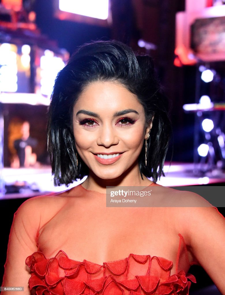 Vanessa Hudgens attends the VMA after party hosted by Republic Records and Cadillac at TAO restaurant at the Dream Hotel on August 27, 2017 in Los Angeles, California.