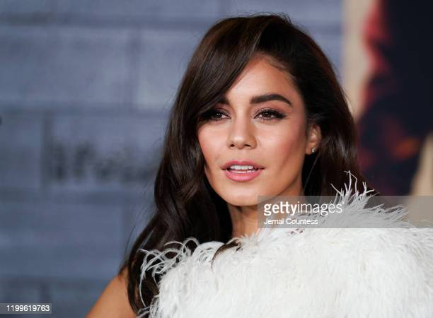 Vanessa Hudgens attends the World Premiere of Bad Boys for Life at TCL Chinese Theatre on January 14 2020 in Hollywood California