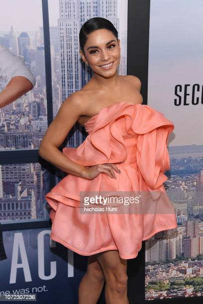 Vanessa Hudgens attends the world premiere of Second Act at Regal Union Square Theatre Stadium 14 on December 12 2018 in New York City