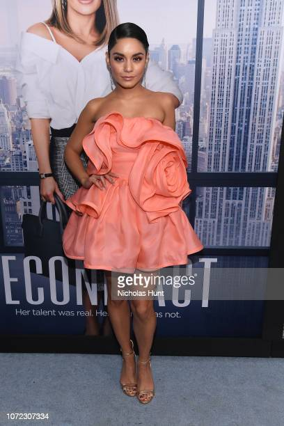 Vanessa Hudgens attends the world premiere of 'Second Act' at Regal Union Square Theatre Stadium 14 on December 12 2018 in New York City