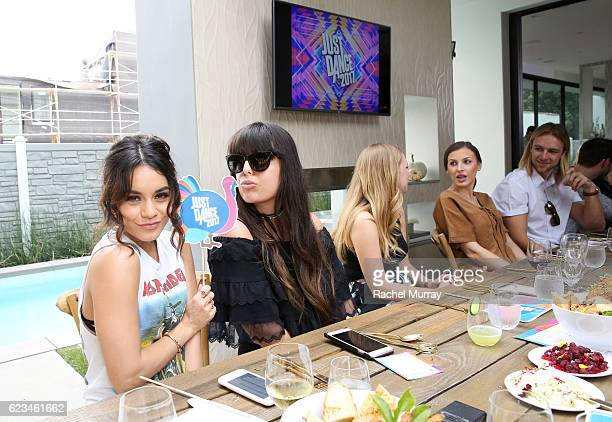 Vanessa Hudgens hosts Just Dance 2017 Friendsgiving on November 15 2016 in Los Angeles California