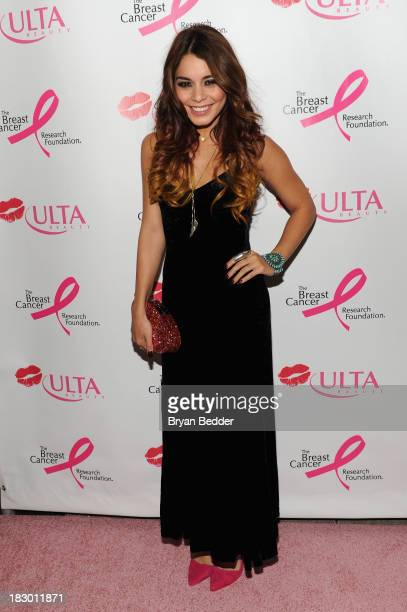 Vanessa Hudgens hosts ULTA Beautys Donate With a Kiss event to launch the ULTA Beauty Kiss Kart and its fundraising efforts for The Breast Cancer...